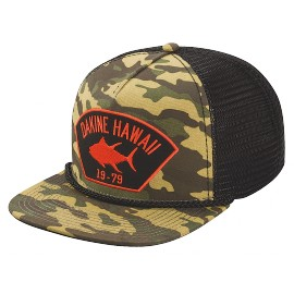 DAKINE BIG TUNA TRUCKER CAP CAMO
