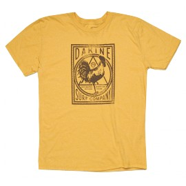 DAKINE ROOSTER GOLDHEATHER T-SHIRT