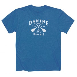 DAKINE WATERMEN ROYAL HEATHER T-SHIRT