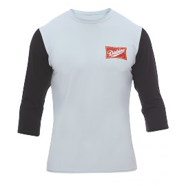 DAKINE LURKER LOOSE FIT GREY/BLACK 3/4 SLEEVE