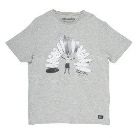 BILLABONG ANDY IRONS GREY/HEATHER T-SHIRT