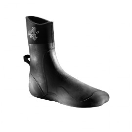 XCEL INFINITI COMP DIPPED ROUND TOE NEOPRENBOOT 3MM BLACK