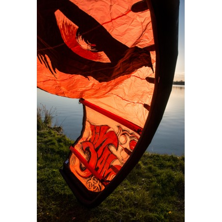 WAINMAN HAWAII ManiaC 8 m², orange, neuwertig