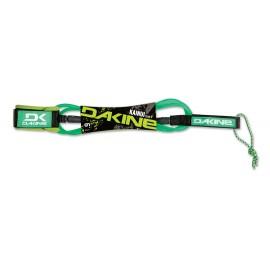 "DAKINE Kainui Team 6'x1/4"" Surf Leash Neon Green"