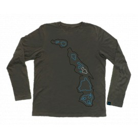 WAINMAN HAWAII Big Islands Longsleeve, dark gray