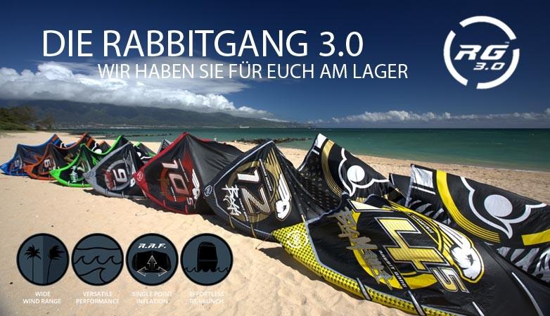Die Rabbitgang 3.0 ist ab Lager verfügbar.