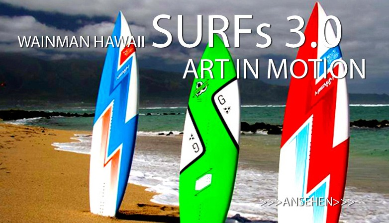 Wainman Hawaii Surfboards 3.0 - Art In Motion